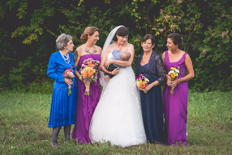 The ladies of the wedding!