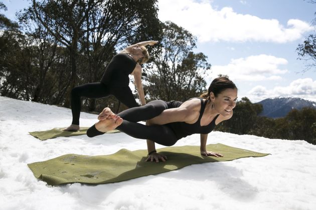 Snoga A Fusion of Snow and Yoga