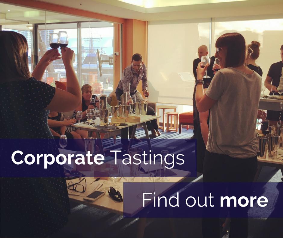 Corporate wine tasting Sydney