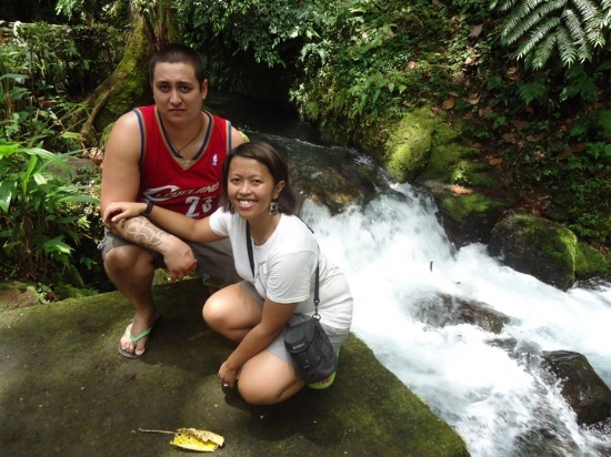 A trip out to Bulusan, Philippines during our honeymoon in 2011.