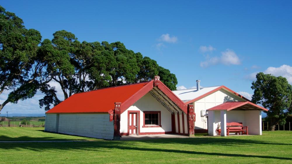Tamatea ki te Huatahi marae on Motiti Island.