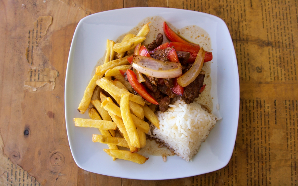 I was told that the secret to a great Lomo Saltado is the quality of your ingredients.