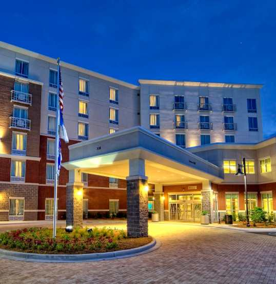 Hilton Garden Inn.  Click image for hotel website.