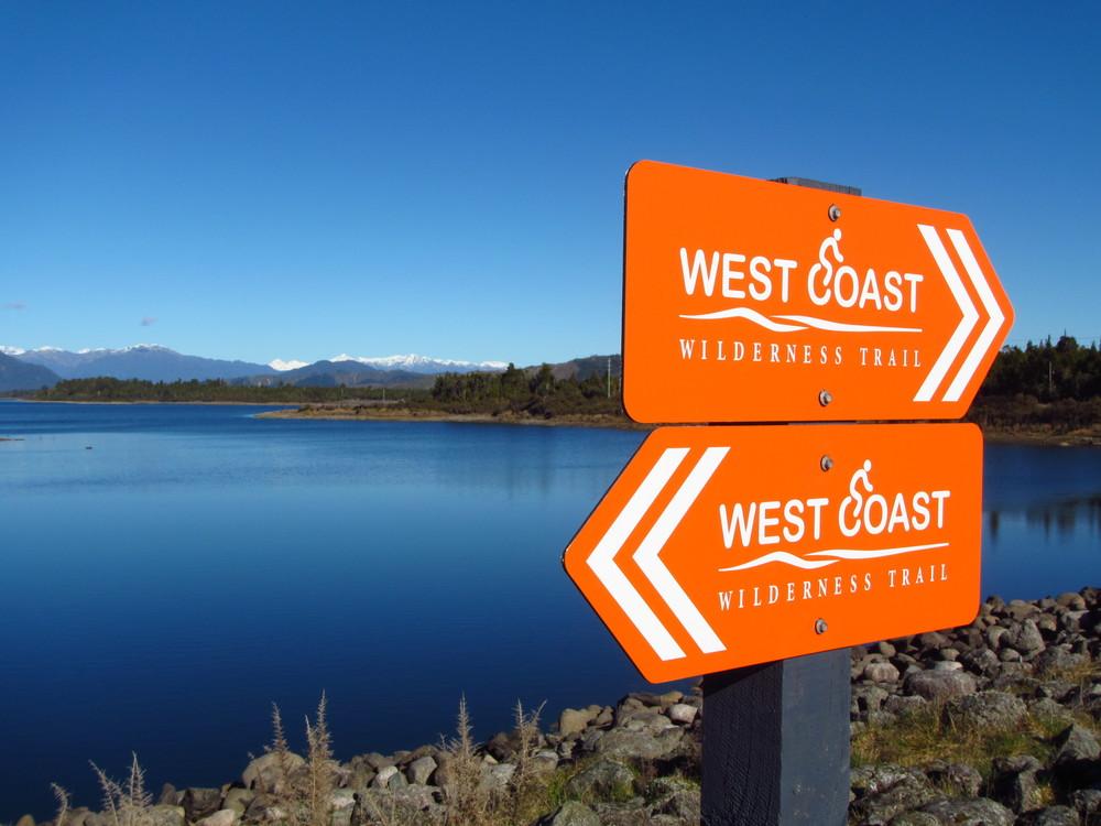 A close friend. West Coast Wilderness Trail.