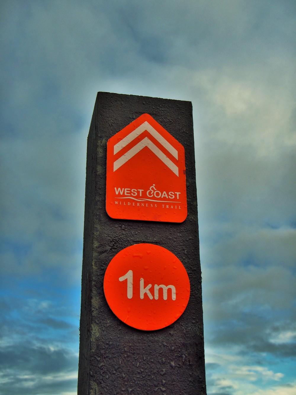 A friendly site. West Coast Wilderness Trail.