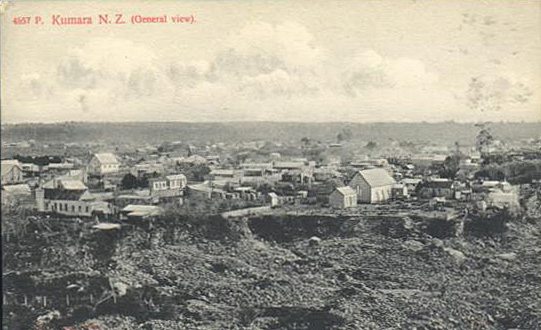 View of Kumara from Taylor's Hill