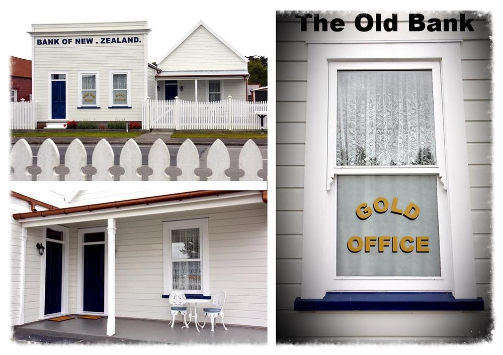 Refurbished Bank of New Zealand Accommodation, Kumara
