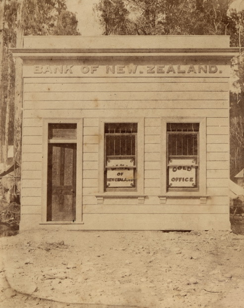 Bank of New Zealand, Kumara, January 1877
