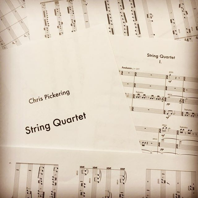 So I've been writing a bunch of new music, just not the kind you may be used hearing me play. Some of it is getting premiered this Tuesday Sept 5th in a concert at 7:30pm in Melba Hall at @unimelb in Parkville, Melbourne. Free entry, free culture.