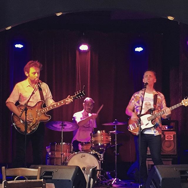 James pulls a BV face, and Ben pulls a 'what type of paradiddle am I going to play next' face whilst The Experiment do music at @thebridgehotelcastlemaine last weekend. We next play The Union Hotel on Feb 3rd at 9:00pm. Two mighty sets.