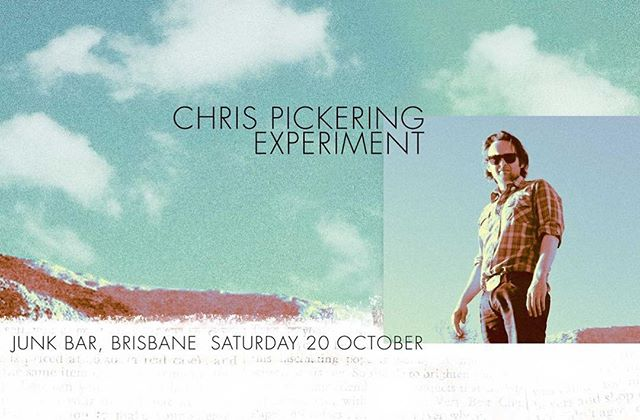 On Oct 20th, The Experiment and I play @thejunkbar in Brisbane for our only headline show up in the deep north this year. Ticket link in bio...