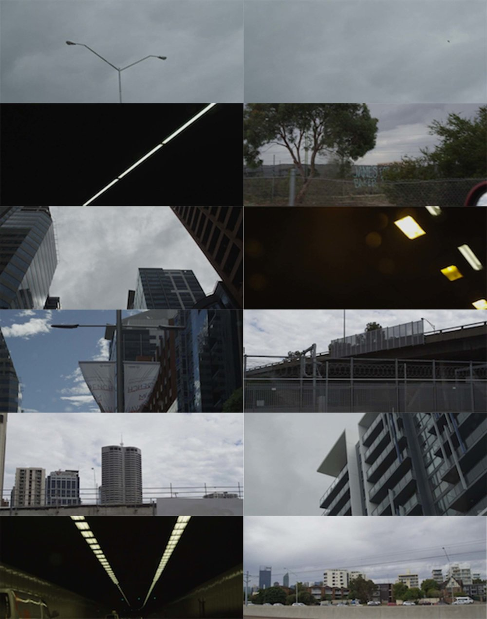 I bunch of pre exisitng RED footage of urban structure i have on file.