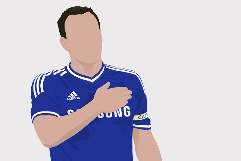 John Terry: bit of a dick, but Chelsea don't care