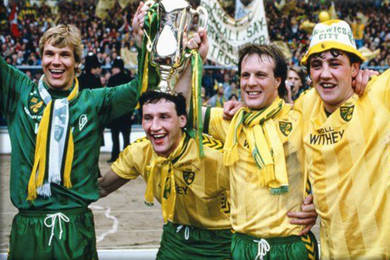 Norwich win the Milk Cup, and absolutely nothing could go wrong next