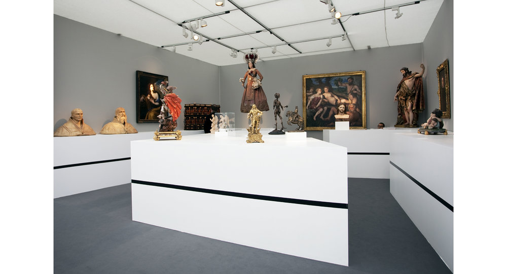 Coll & Cortés Stand G8 at Frieze Masters 2013