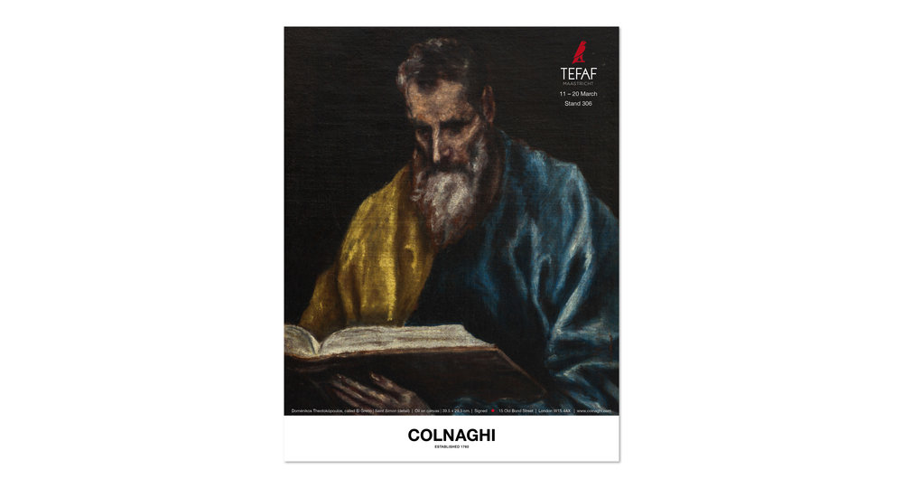 Colnaghi advertising campaign 2016