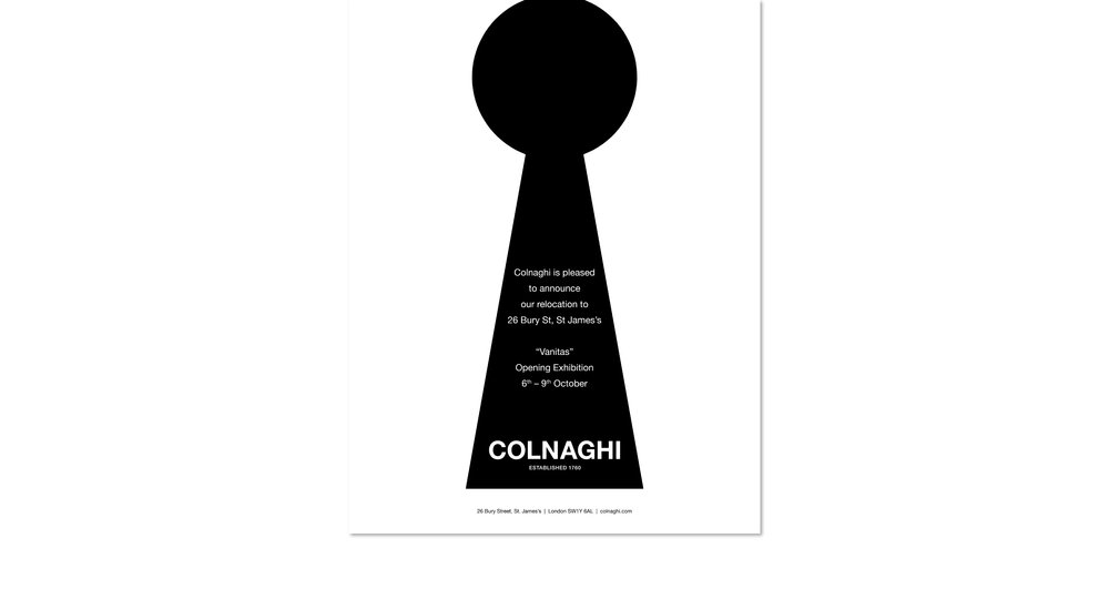 Colnaghi advertising campain 2016