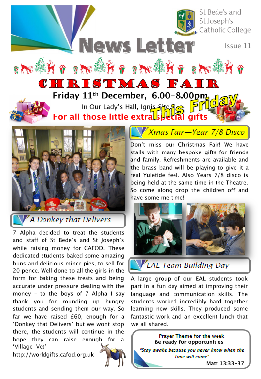 front cover newsletter 11