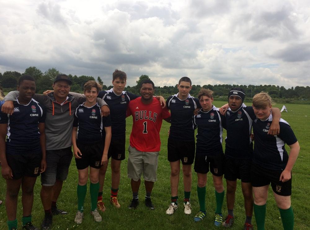 Y9 Rugby Team