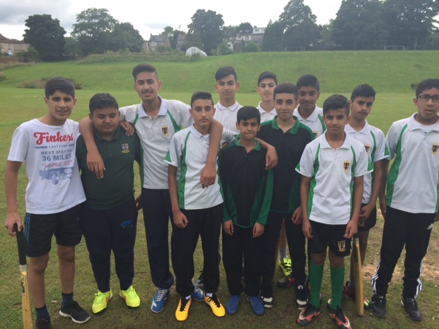 y9 cricket team