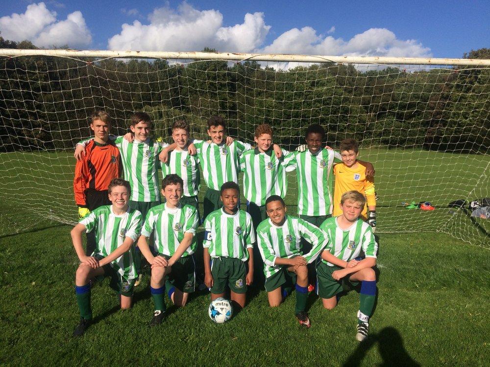 Y9 football team