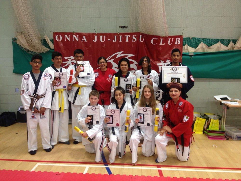 Jujitsu club
