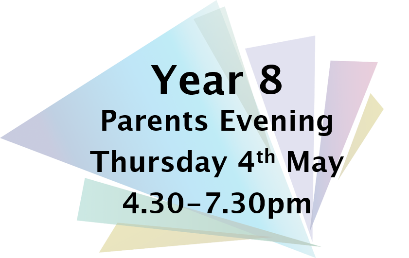 Y8 Parents Evening