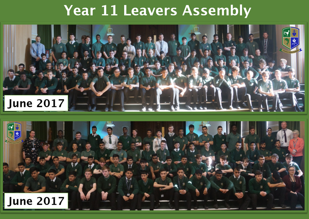 y11 boys leavers