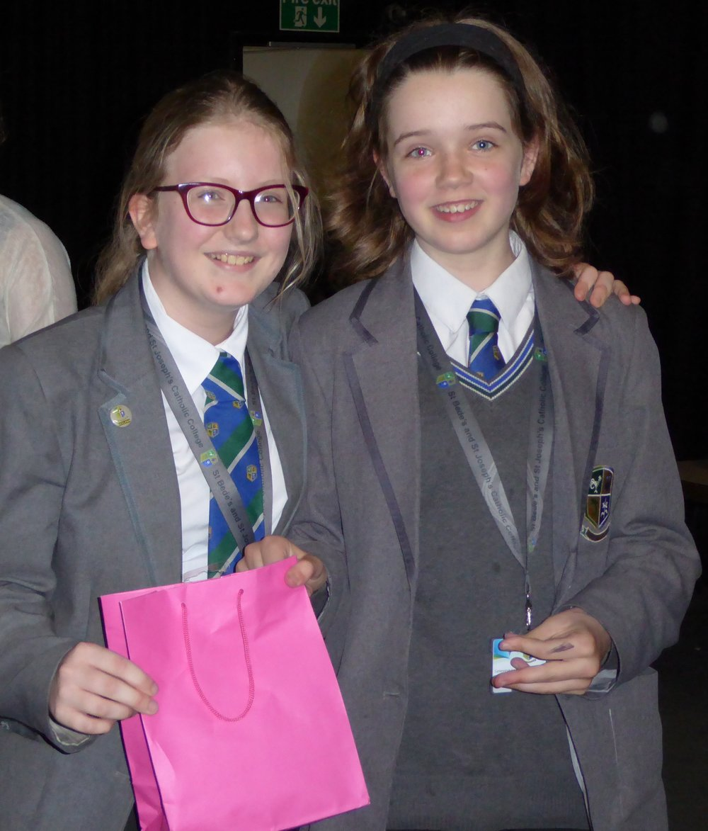Joint Winners Eleanor and Genevieve
