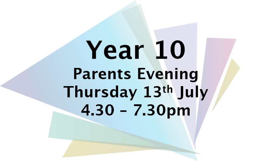 Y10 parents eve