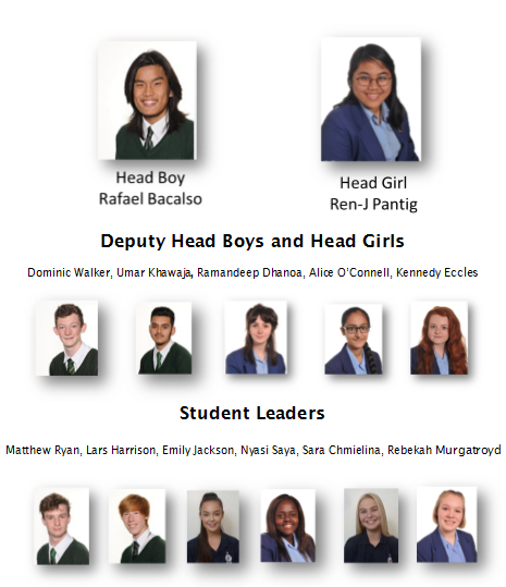 Head boy girl team