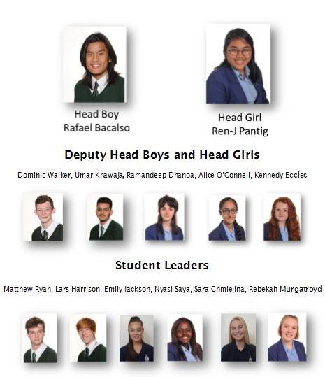 Head boy girl team