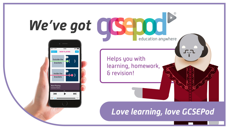 GCSE Pod has arrived at SBSJ — St Bede's and St Joseph's