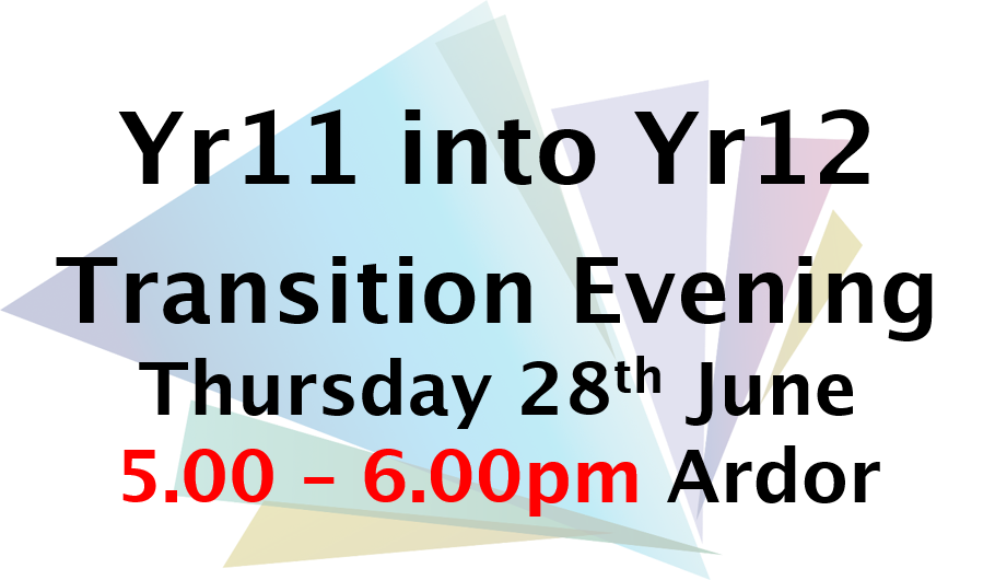 Yr11 transition evening