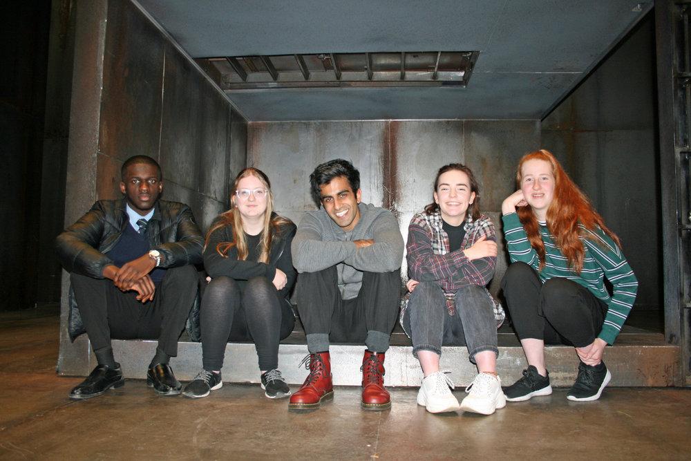 Pic 1 - Bally Gill and Bradford students.jpg