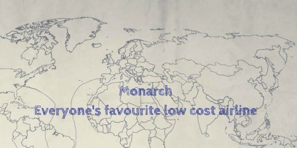 Monarch airlines brand reputation