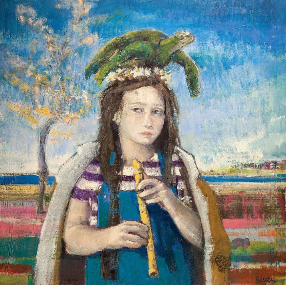 Pina / Pina  70x70cm tuval üzerine yağlıboya/ oil on canvas 2015  Palimpsest Memory Solo Exhibition @ Harmony Art Gallery    (Özel Koleksiyon/Private Collection)