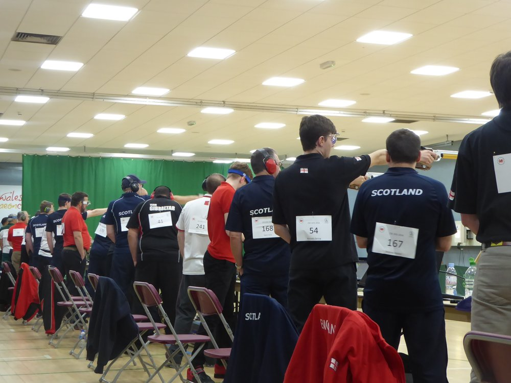 Men's 10m Air Pistol Pairs & Badge Match