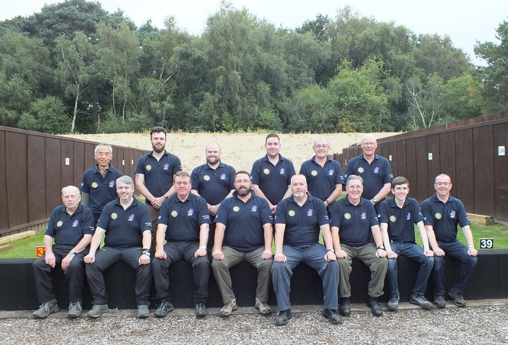 Gallery Rifle Squad at the National GR Championships - Bisley August 2016