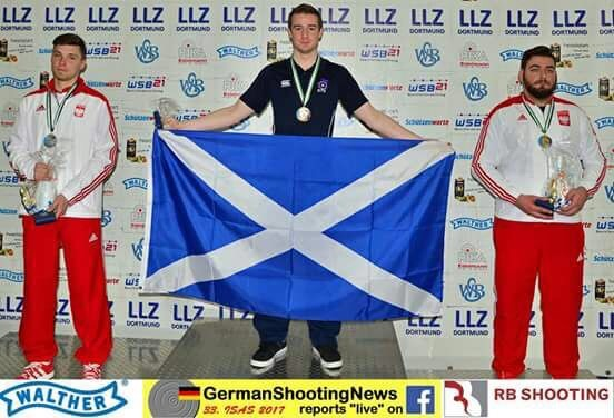 Aedan experiences success for Scotland in Germany