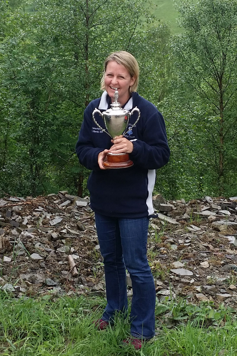 Scottish Open success for WARC member Claire Halleran