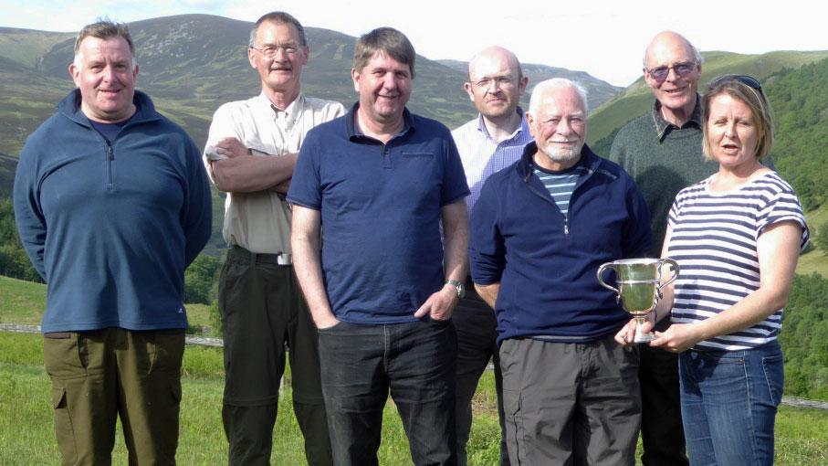 Pentagonal winners 2017, West of Scotland Team score 573v61