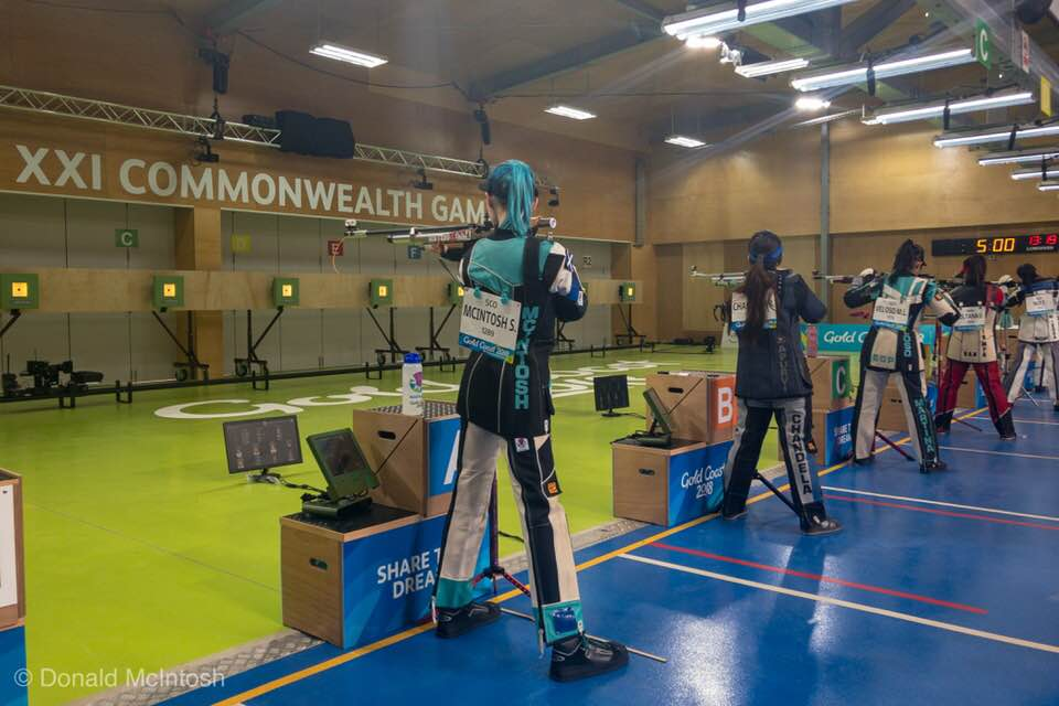 Jennifer and Seonaid will be back in action in the 50m Prone Rifle