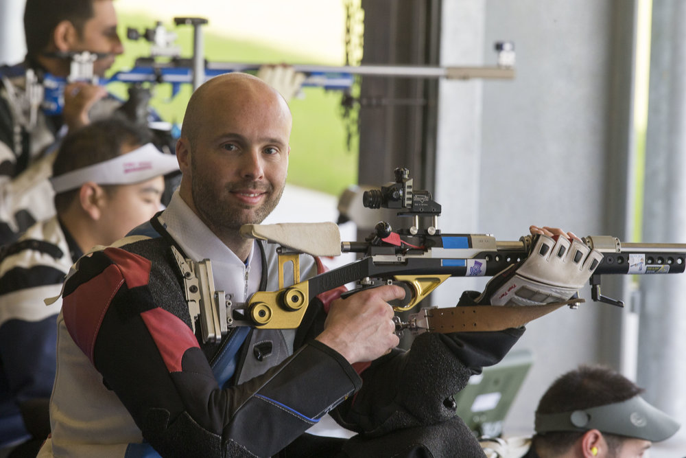 Neil will be looking to follow in Seonaid's footsteps and win his second medal