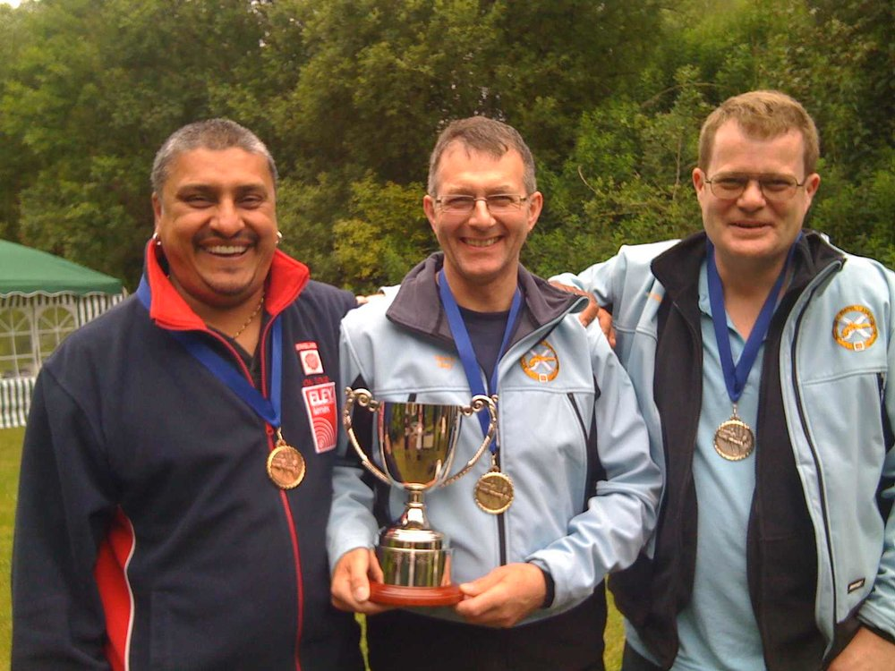Sunday Medallists (left to right) Iqbal Ubhi, Kevin Gray & Alan Goodall