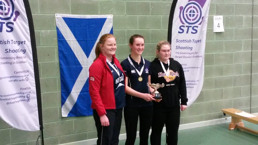 Winners - Women's Junior 10m Air Pistol Championships