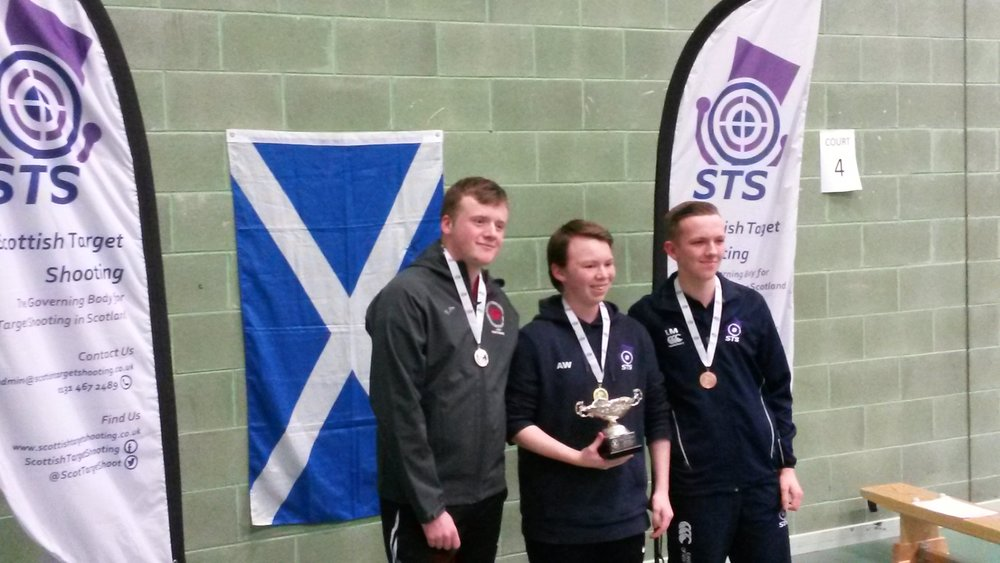 Winners - Men's Junior 10m Air Pistol Championships