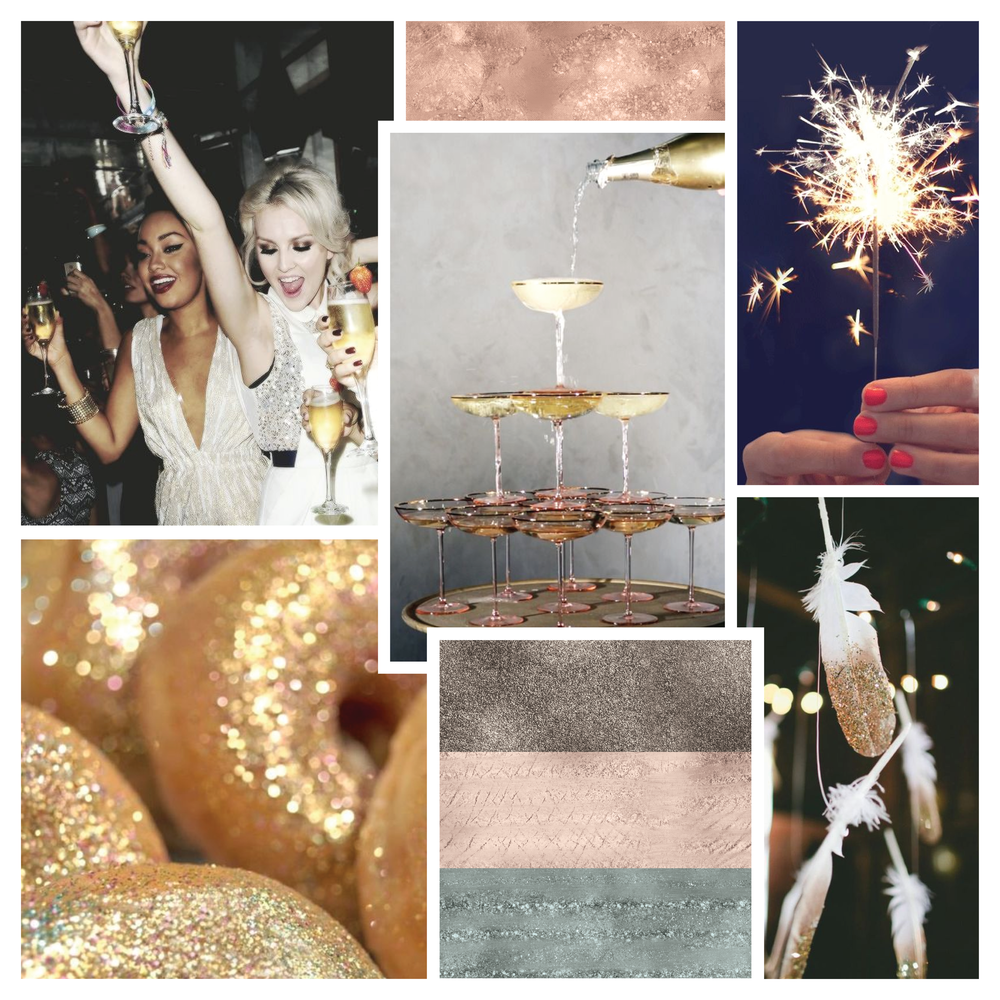 Monday Moodboard #05 - The Glitterati - Garlic Friday Design www.garlicfriday.com