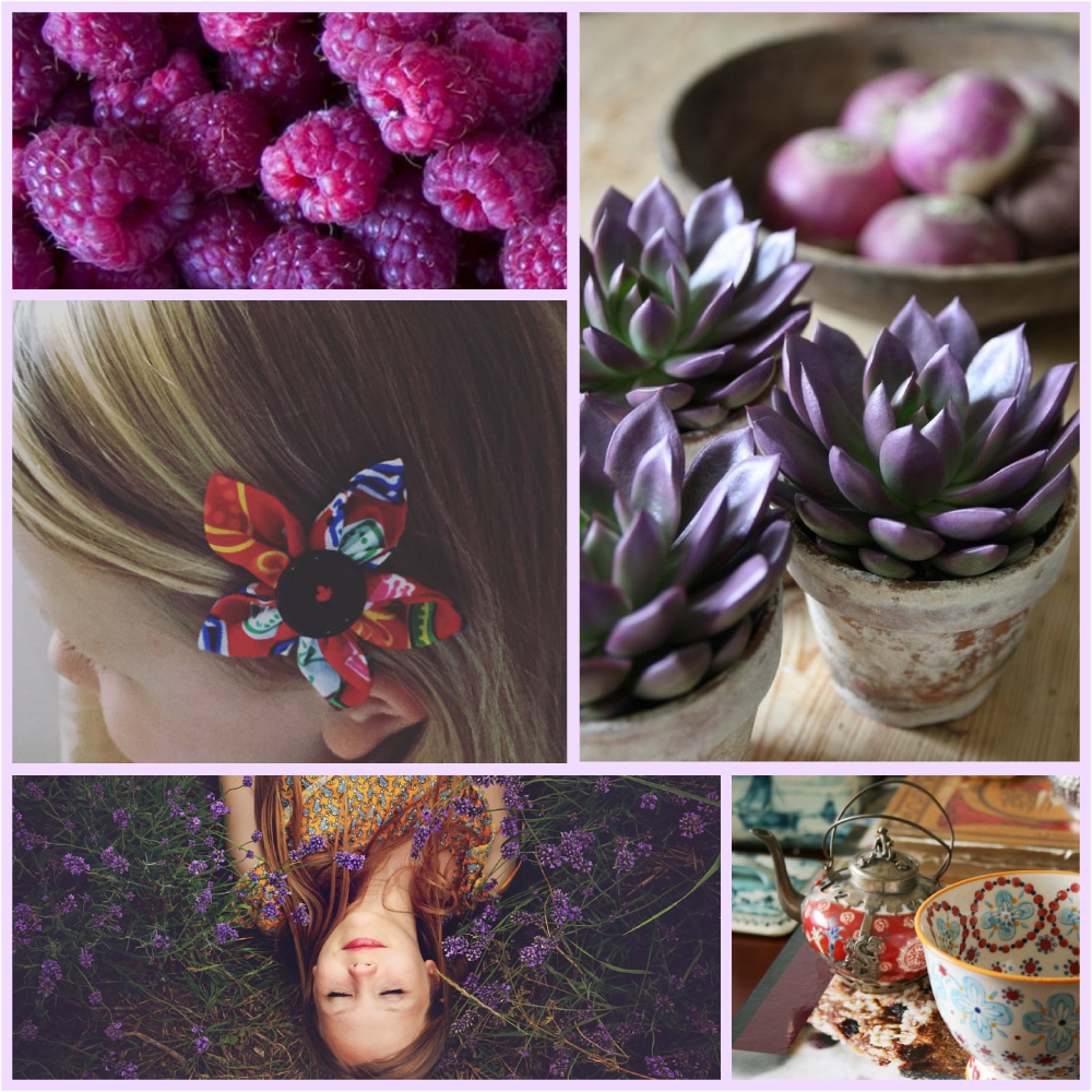 Moody purples and flashes of rustic red make this moodboard dark and interesting! For more colour inspiration and colour palette ideas for your creative business, visit Garlic Friday Design at www,garlicfriday.com