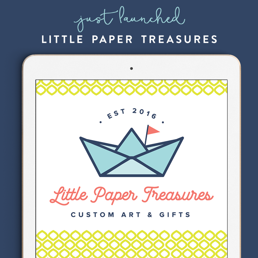 Coming Soon - Little Paper Treasures